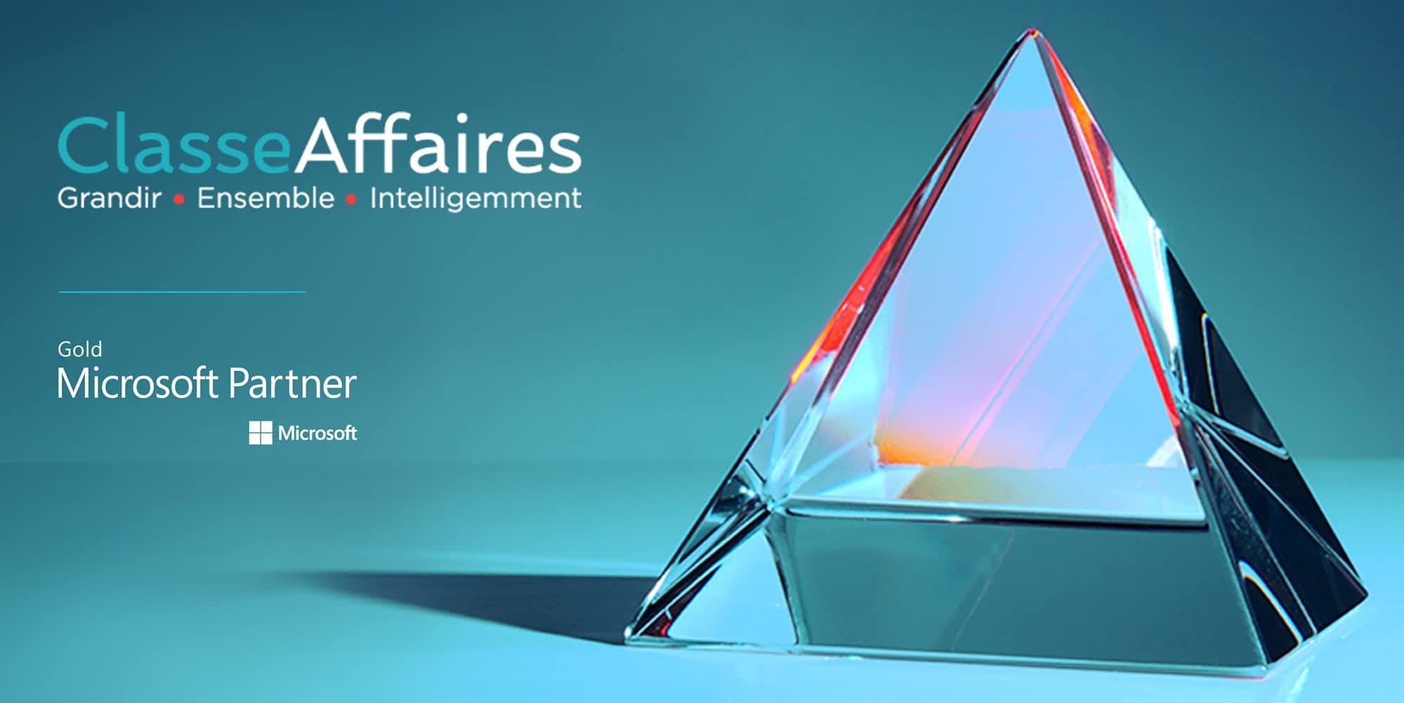 Classe Affaires - Microsoft Partner Gold