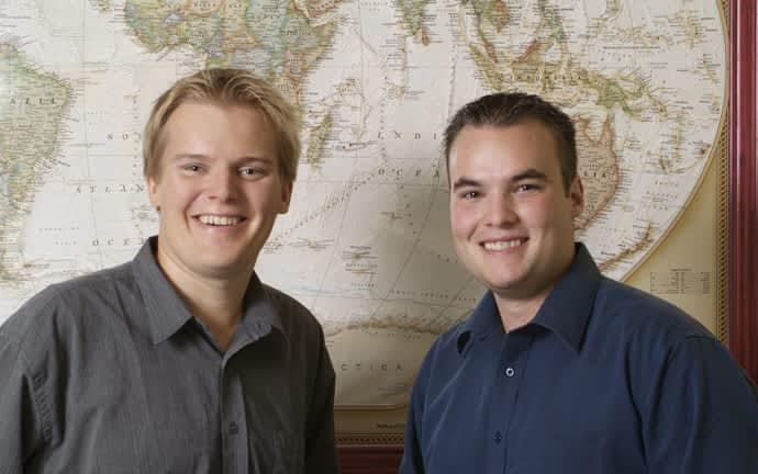 Célestin et Jean-Sébastien